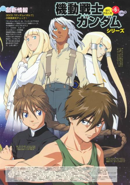 Sunrise (Studio), Turn A Gundam, Mobile Suit Gundam Wing, Kihel Heim, Duo Maxwell