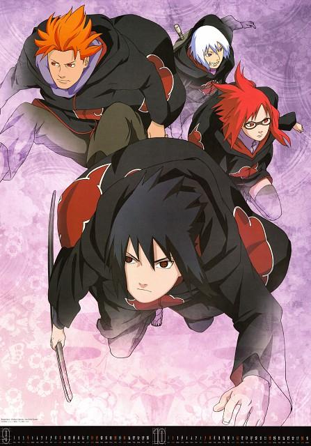 Studio Pierrot, Naruto, Sasuke Uchiha, Suigetsu Hozuki, Juugo