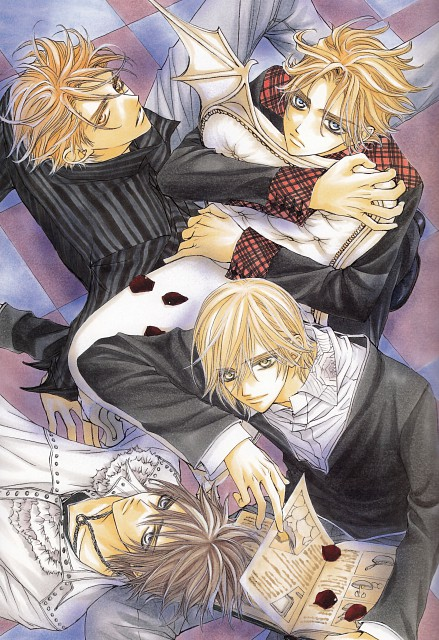 Matsuri Hino, Vampire Knight, Hino Matsuri Illustrations: Vampire Knight, Hanabusa Aidou, Senri Shiki